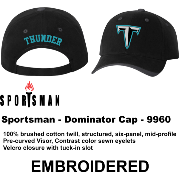 159ce821567 Thunder Baseball Cap - R&S Screen Printing
